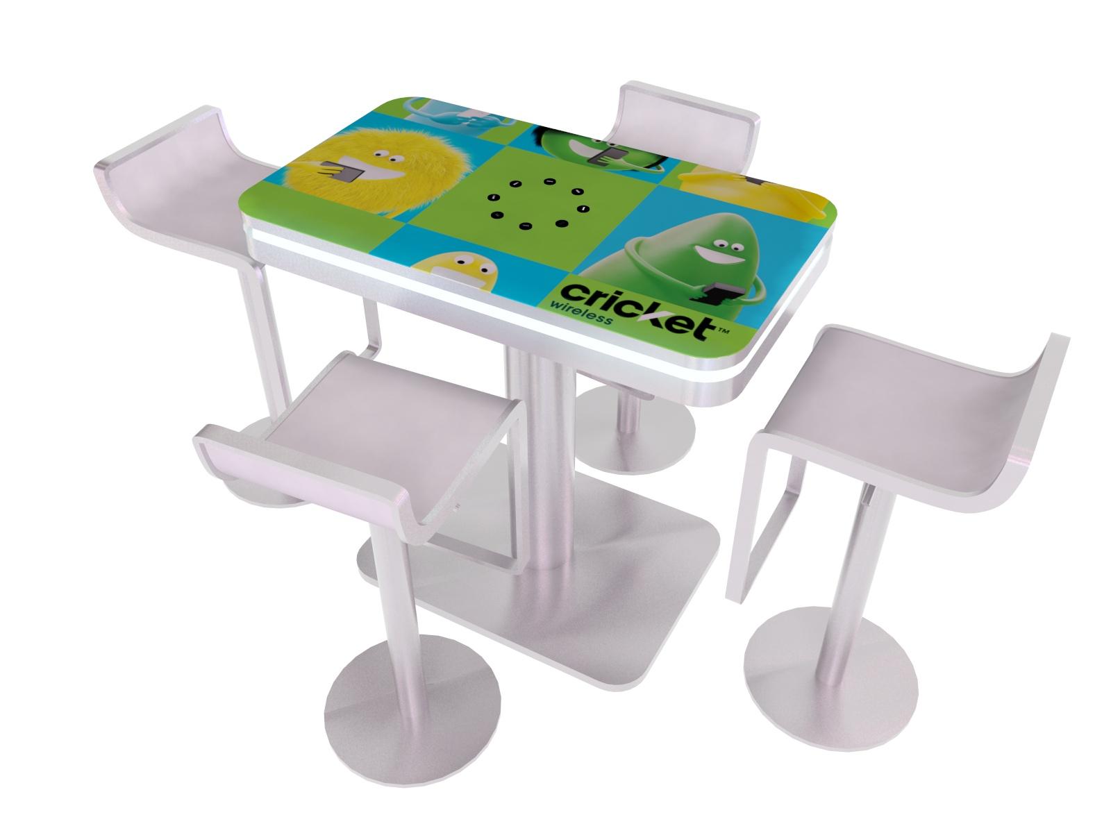 Portable Exhibition Table : Exhibit design search mod portable charging table